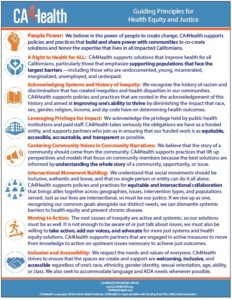 EQUITY PRINCIPLES